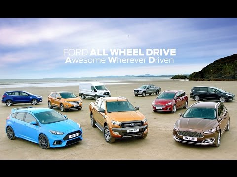Ford All-Wheel Drive: From Mountain To Beach