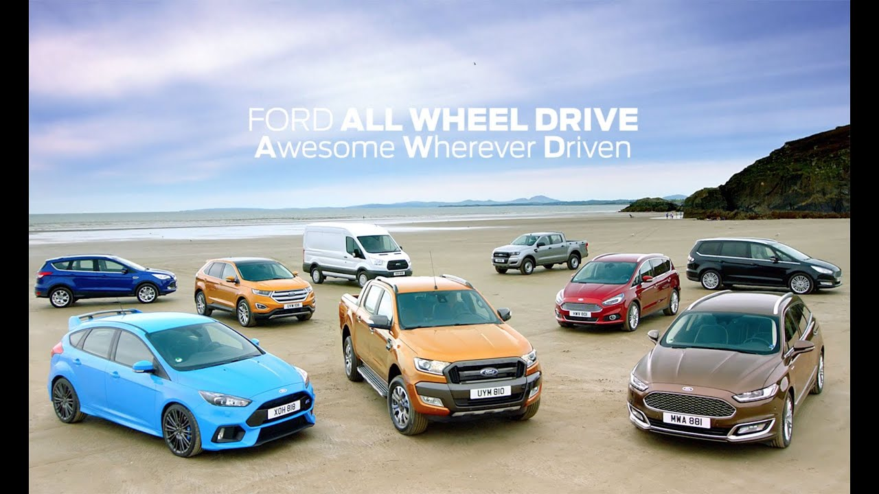 & Ford All-Wheel Drive: From Mountain to Beach - YouTube markmcfarlin.com