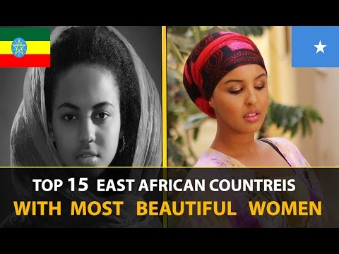 TOP 15  AFRICAN COUNTRIES WITH MOST BEAUTIFUL WOMEN 2017