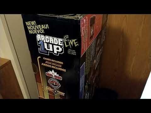 Recent Gamer Grab! NBA JAM Arcade1UP 2/22/21 from Video Game X-D