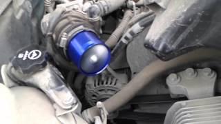 Установка нагнетателя F1-Z на Шевроле Круз http://www.avtopartsshop.com/