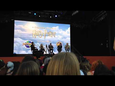 Harry Potter Celebration Q&A Session at Universal Studios (2015)