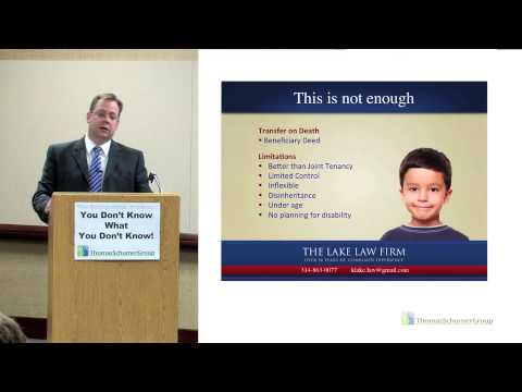 "ThomasSchumerGroup Presents ""Estate Planning"" by Kevin Lake"