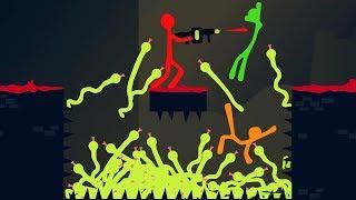 ЗМЕИНЫЙ КОРОЛЬ СРЕДИ ДРУЗЕЙ! (Stick Fight)