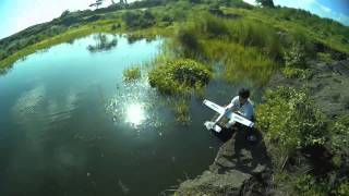 Scratch build rc airboat