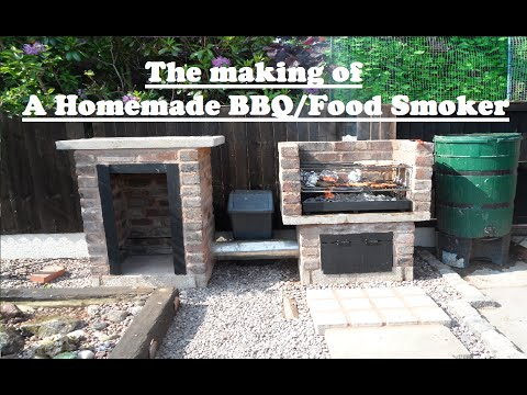 Homemade Food Smoker/BBQ - The Making Of