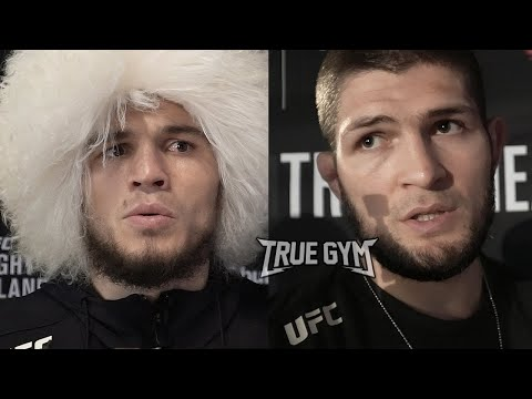 Реакция Хабиба на бой Умара в UFC / Умар и Хабиб после боя против Морозова