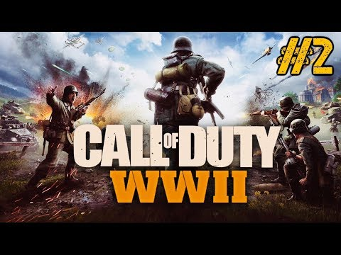 COD: WWII CAMPAIGN WALKTHROUGH PART 2 - SHOULDA TOOK COVER!