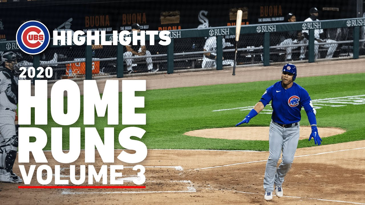 Contreras' Epic Bat Flip, Heyward's Go-Ahead Homer Off Hader | 2020 Cubs Home Runs Vol. 3