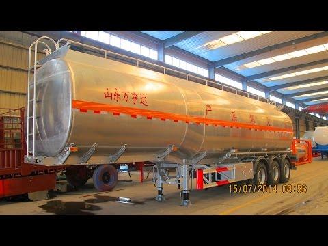 CIMC Shandong Wanshida  Aluminum Tank Trailer