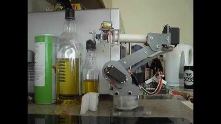SainSmart 6-axis robot arm using teach points and smooth profiles