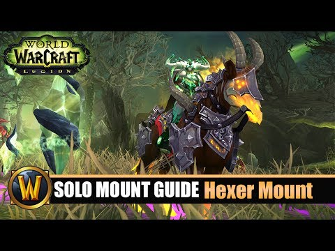 Telars Solo Mount Guide #52 Hexer Class Mount (7.2.5)