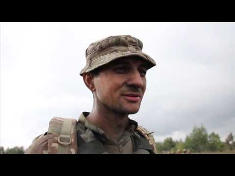 Ukraine Military Training Sept 8, 2015 by WSIL-TV Carterville, IL USA
