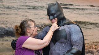 Batman Visits a Retirement Home!