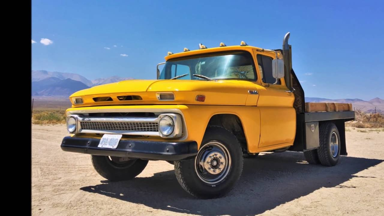 All Chevy 1965 chevy c30 : 1963 Chevy Truck C30 Dually Restoration - YouTube