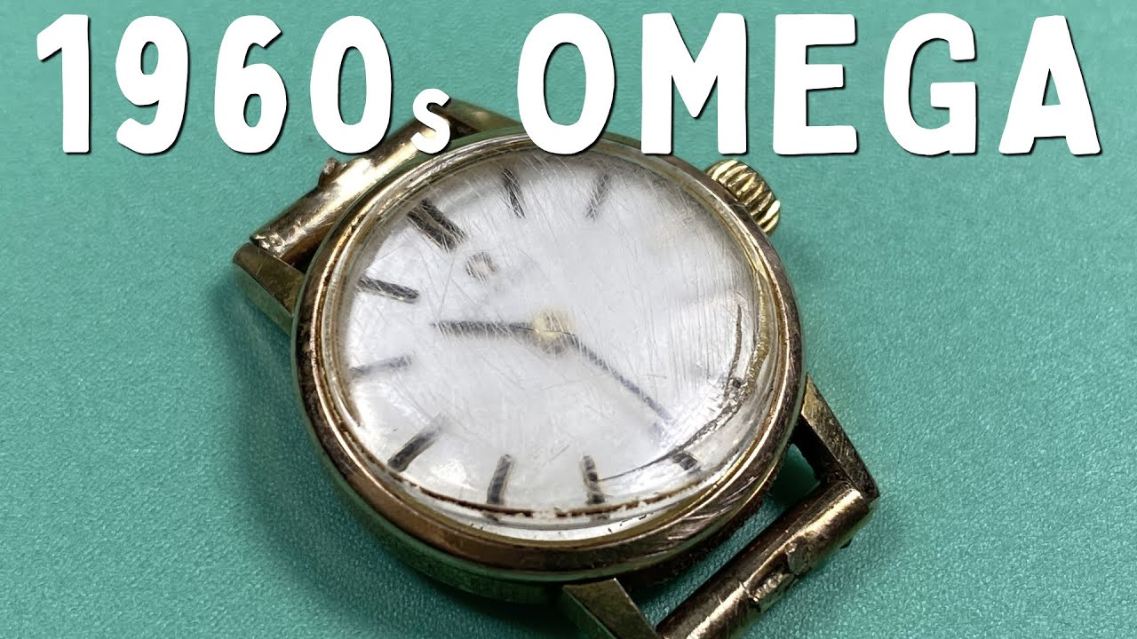OMEGA WATCH RESTORATION - A Classic 1960s Mechanical Watch Service & Repair Tutorial