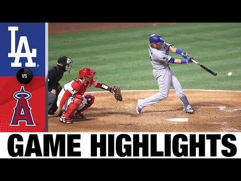 Dodgers vs. Angels Game Highlights (5/8/21) | MLB Highlights