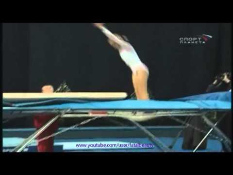 Irina KARAVAEVA trampoline - 2004 Moscow gymnastics festival