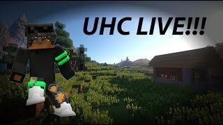 Minecraft | UHC Live!!! | Episode 1 Come join!!! #Live #MCPE