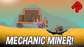 MECHANIC MINER gameplay: Terraria meets Physics Sandbox! (PC early access/story mode)