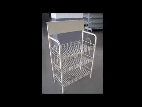 Wire Shelving Decorating Ideas Modern