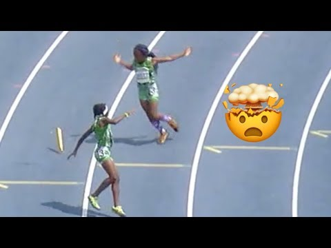 INSANE Finish In 8-Year-Old 4×1 Relay 😱