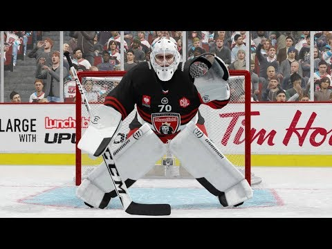 NHL 18 - EASHL Goalie #1 - BEST TEAM EVER!