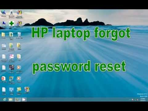 Hp 2000 notebook pc forgot password