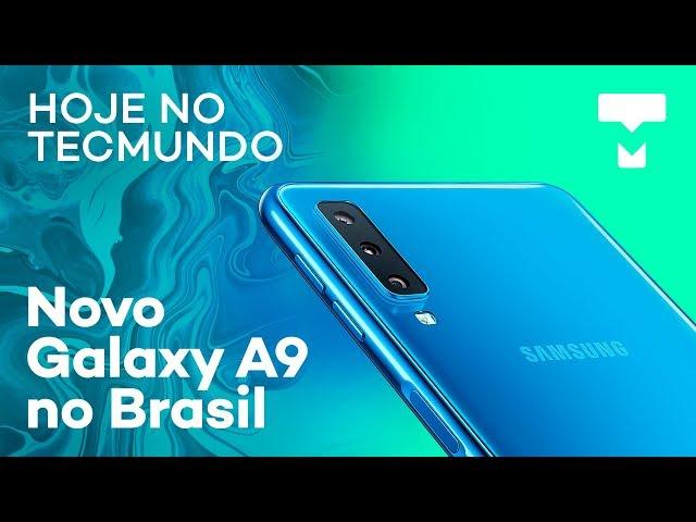 Android Q, expansão da Amazon Brasil, novo Galaxy A9 e mais - Hoje no TecMundo