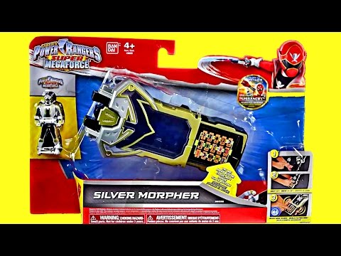 Silver Morpher Review & Comparison! (Power Rangers Super Meg