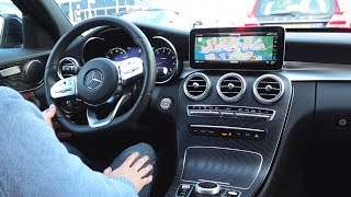 2019 Mercedes C Class C180 AMG - NEW vs 2018 Full Drive Review Sound Interior Exterior