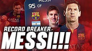 RECORD BREAKER MESSI!!
