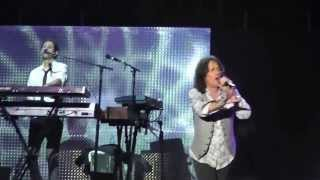 "Foreigner performs ""Waiting for a Girl Like You"" live at the PNE, Vancouver  BC August 2013"