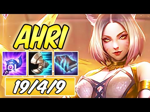 CLEANEST PRESTIGE K/DA AHRI MID IS BACK WITH AMAZING PLAYS | Best Build & Runes | League of Legends