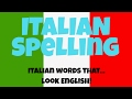 Learn Basic Italian: Learn Italian Words that Look like English Words and What They Actually Mean
