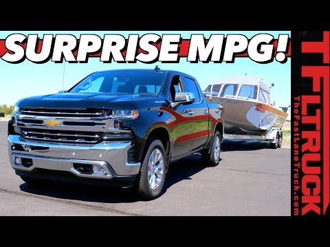 Wow! We Weren't Expecting The 2020 Chevy Silverado 1500 Diesel To Get THIS MPG!