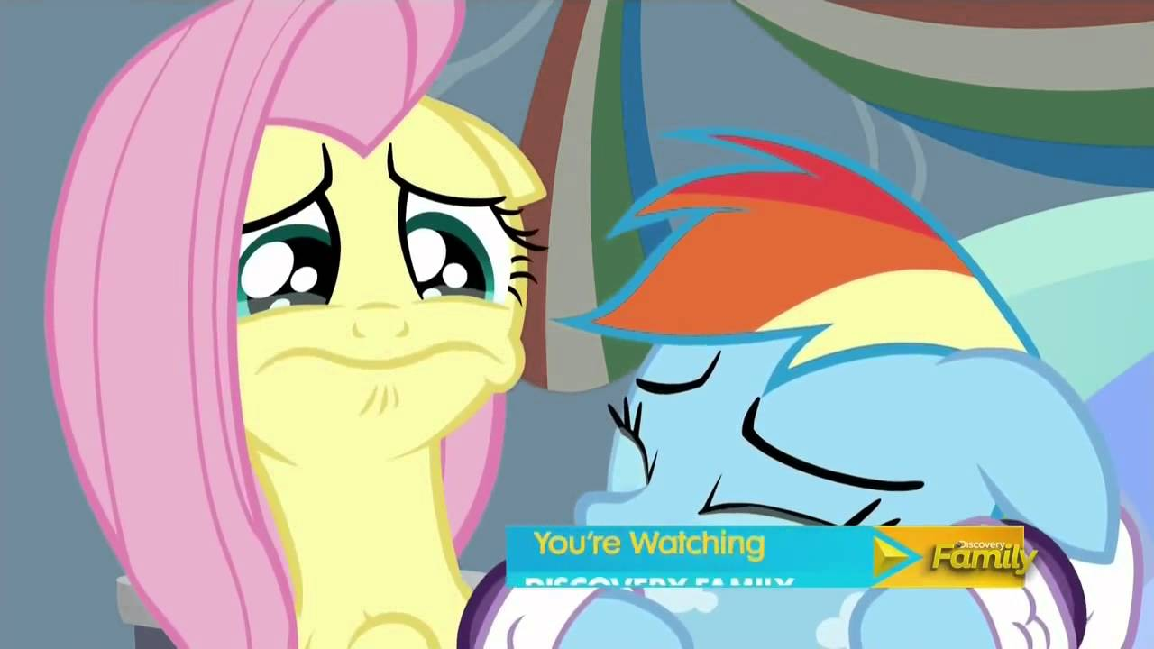 Rarity I Can T Bear To See Fluttershy Cry Youtube
