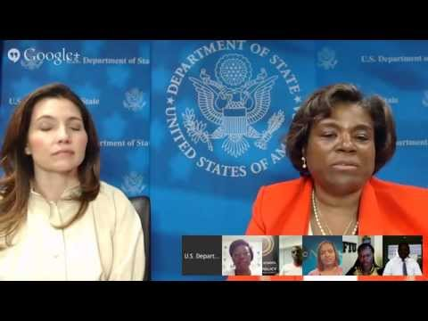 Google+ Hangout with Young African Leaders