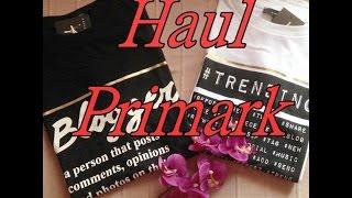 Haul Primark - Moda y Accesorios