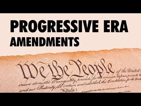 Progressive Era Amendments to the Constitution (APUSH) - @TomRichey