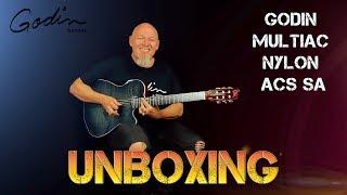 NGD | Unboxing New Guitar | Godin Multiac ACS Nylon String |