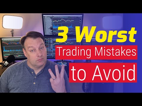 3 Worst Stock Trading Mistakes to Avoid [Stock Lessons]