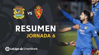 Resumen de CF Fuenlabrada vs Real Zaragoza (2-1)