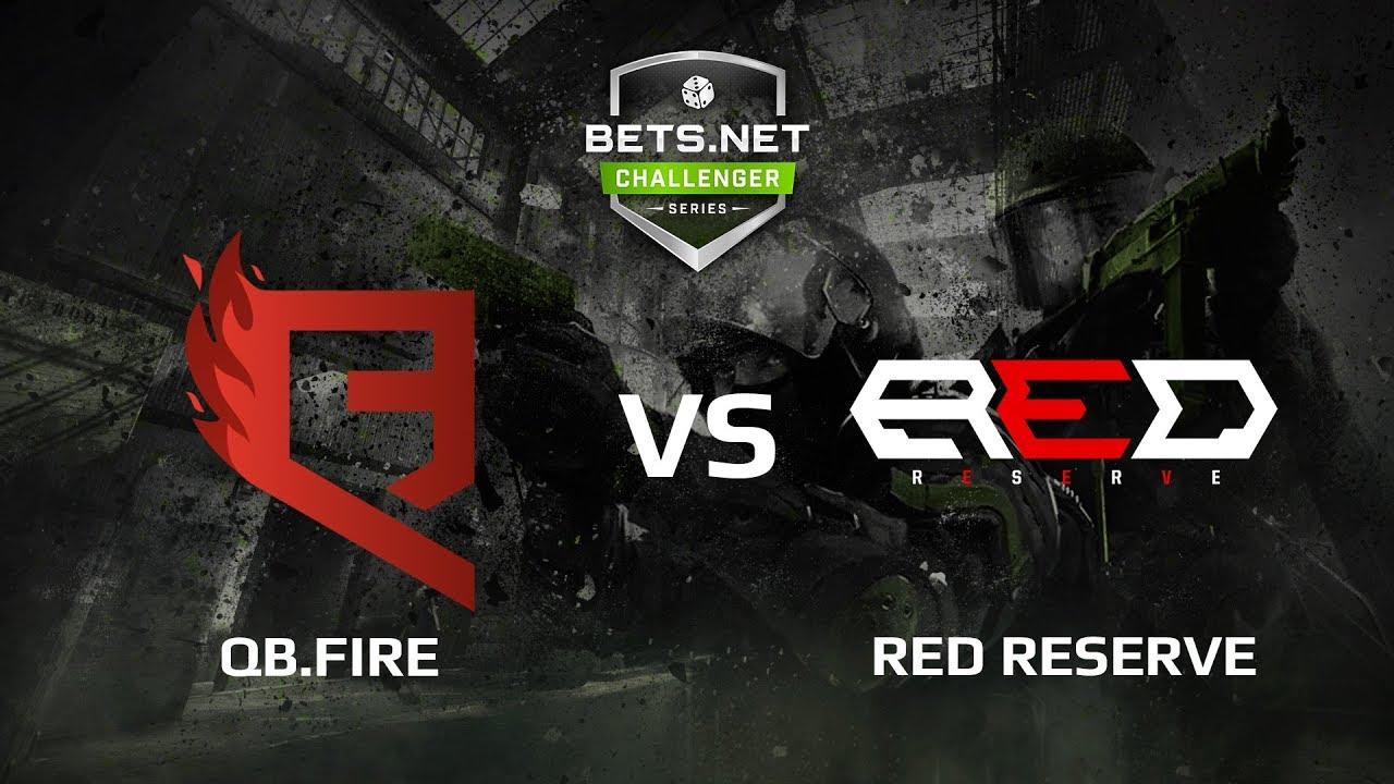 QB.Fire vs Red Reserve, map 2 cobblestone, Bets.net Challenger Series