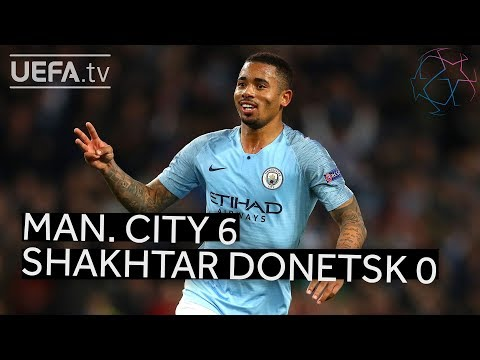 MAN. CITY 6-0 SHAKHTAR DONETSK #UCL HIGHLIGHTS Mp3