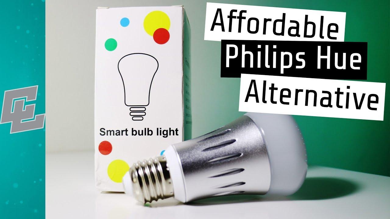 Affordable Philips Hue Alternative | Tuya Smart LED Bulb (2018 Review)