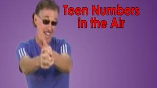 Teen Numbers   Numbers in the Teens   Teen Numbers In The Air   Jack Hartmann