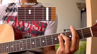 Como tocar Ginza - J Balvin en guitarra