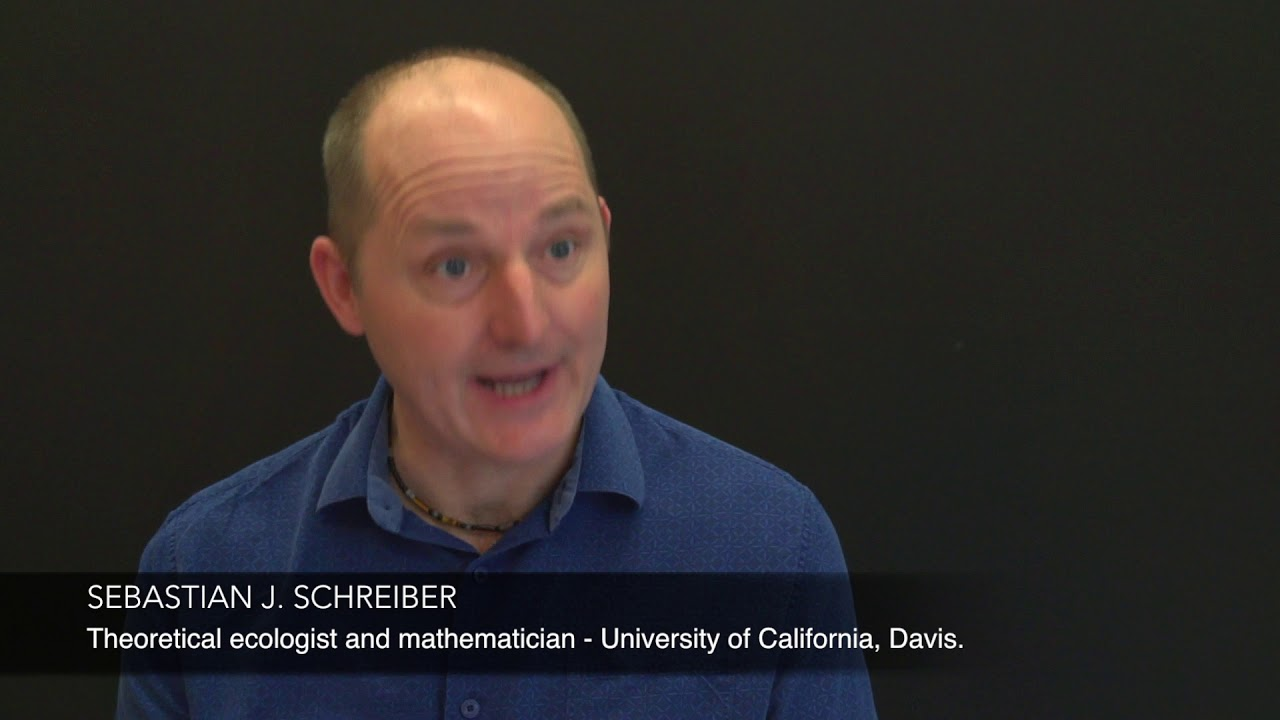 Interview at CIRM: SEBASTIAN J  SCHREIBER