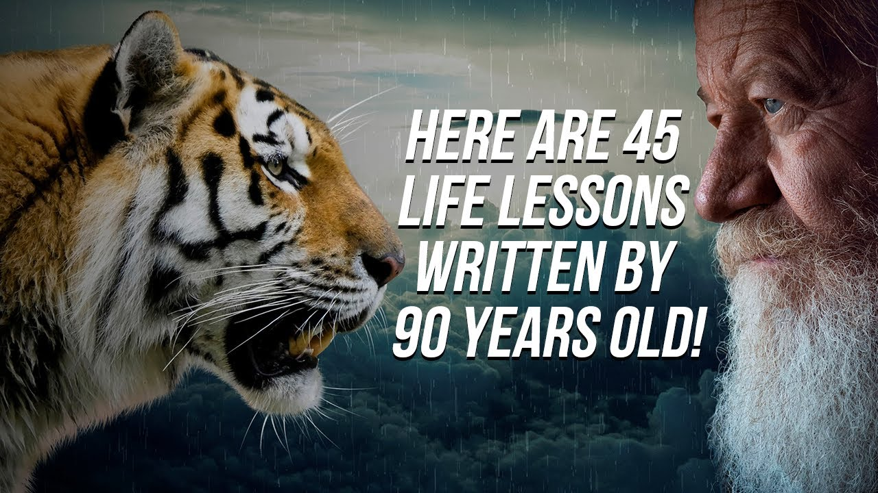 Here Are 45 Life Lessons Written by 90 Years Old!